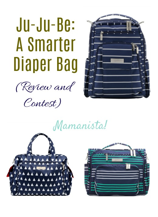 Ju-Ju-Be: A Smarter Diaper Bag (Review and Contest)