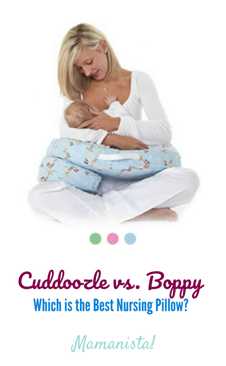 Cuddoozle vs. Boppy: Which is the Best Nursing Pillow?