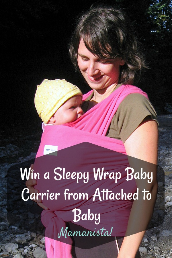 Win a Sleepy Wrap Baby Carrier from Attached to Baby
