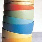Bambu Bamboo Lacquerware Non-Plastic Baby Bowls