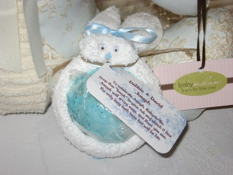Baby Shower Favors: How to Make Boo-Boo Bunny Favors with LUSH Bath Bombs