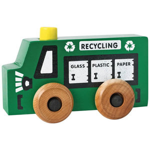 Maple Landmark Toy Recycling Truck