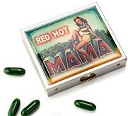 Red Hot Mama Pill Case