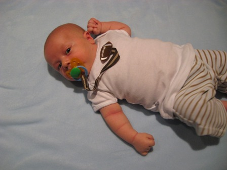 Clothing for Babies Who Love Their Pacifiers