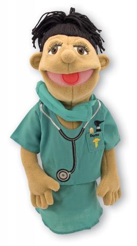 Surgeon Doctor Puppet