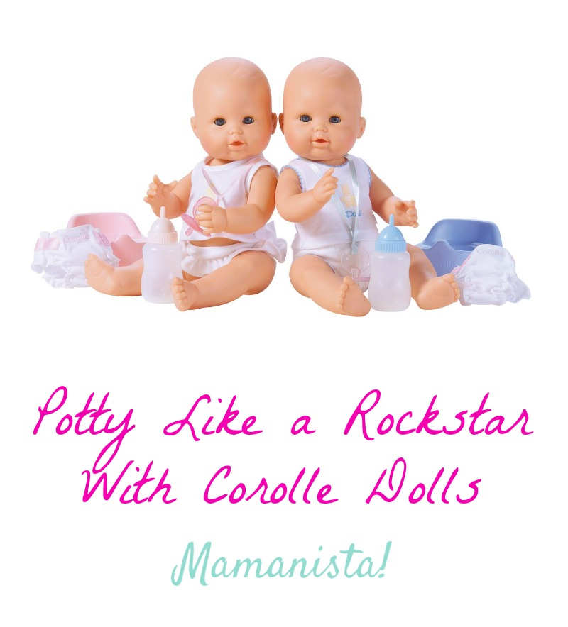 Potty Like a Rockstar With Corolle Dolls