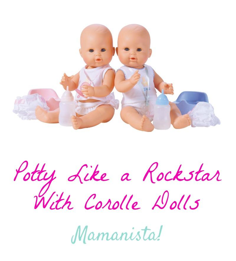 Potty Like a Rockstar With Corolle Dolls