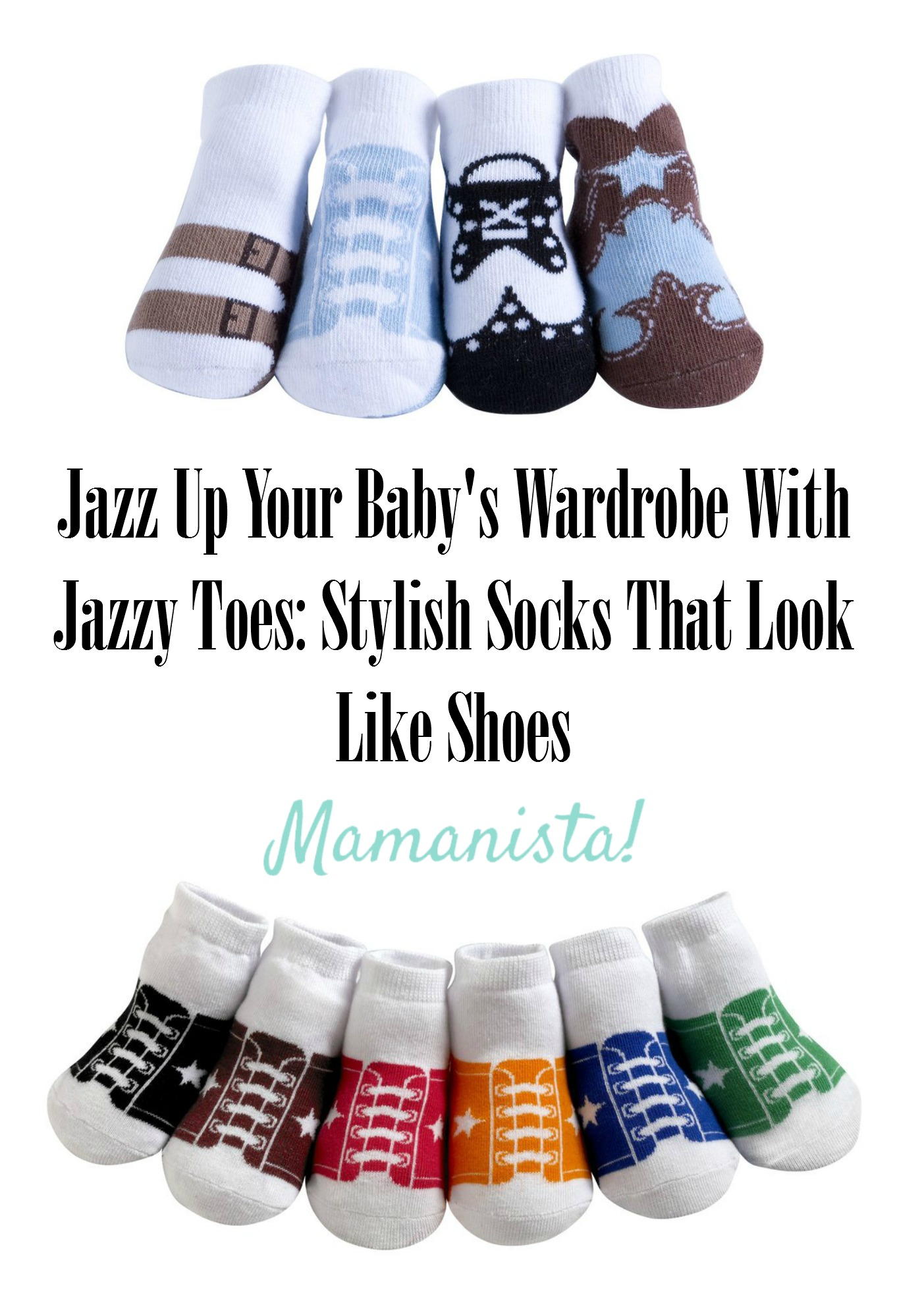 Jazz Up Your Baby's Wardrobe With Jazzy Toes: Stylish Socks That Look Like Shoes