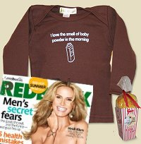 Baby Fish Mouth in Redbook