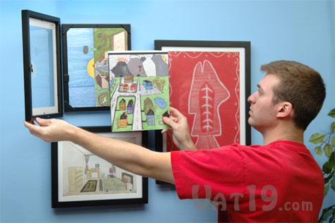 Art Display Cabinet