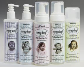 No-Rinse Shampoo and Baby Wash from Oopsy Daisy