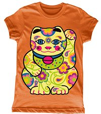 Good Luck Kitty Toddler Tee