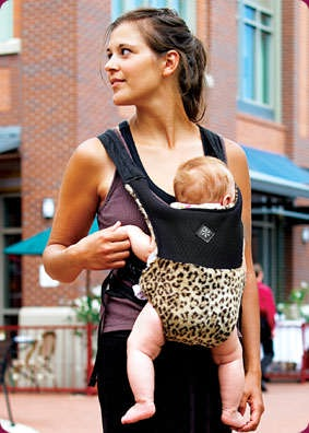 You'll Be the Belle of the Ball in this Hip Baby Carrier