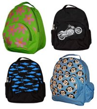 Win a Personalized Four Peas Backpack and Lunch Bag from Skimbaco.com