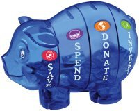 Be a Savvy Millionaire Kid and Save, Invest and Donate