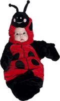 Lady Bug Bunting Costume Infant