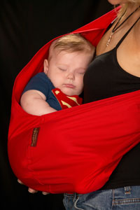 Baby Superman Sling Costume