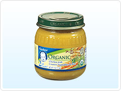 New Affordable Organic Baby Food Options from Gerber