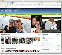 Shutterfly Share Site