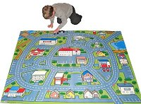 Drive Around Town Car Play Mat