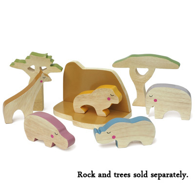 Eco-friendly Artistic Wooden Toys: Win A Set of Cheekeyes Animals