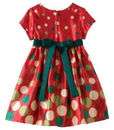 Bonnie Jean Dot Shrug and Dress Set