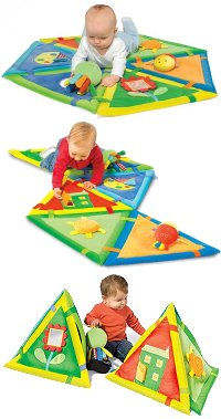 One Step Ahead Stepping Stone Play Mat