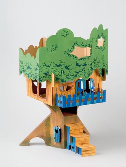 Cardboard Calaphant Treehouse