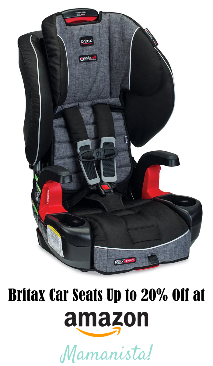 Britax Car Seats Up to 20% Off at Amazon