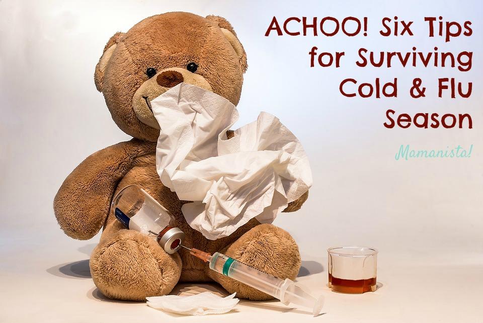ACHOO! Six Tips for Surviving Cold & Flu Season