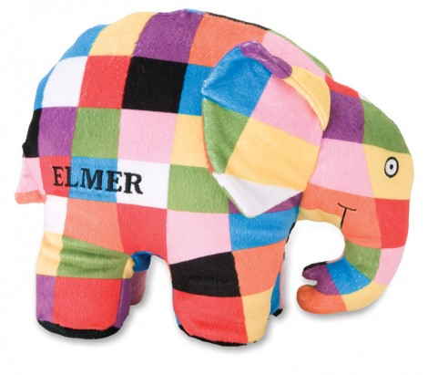 Elmer the Elephant Wants to Be Friends