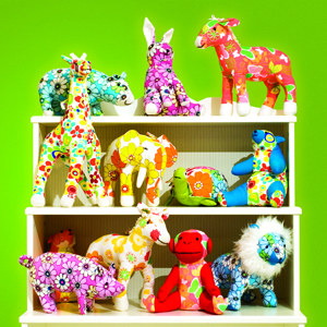 These Animals Get Wild: Color Zoo Plush Friends