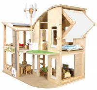 Plan Toys Green Dollhouse Eco-Friendly
