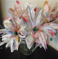 coffee filter flower craft