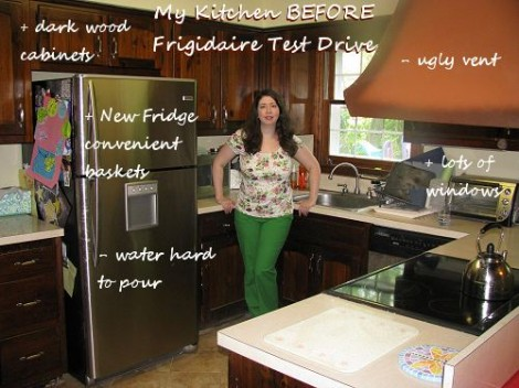 "Frigidaire Test Drive Mom: ""Before"" Video and Pictures"