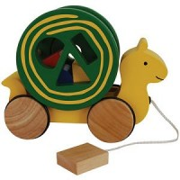 Snail Pull Toy Shape Sorter from ImagiPlay