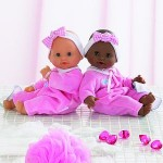 Tidoo quick drying bath dolls