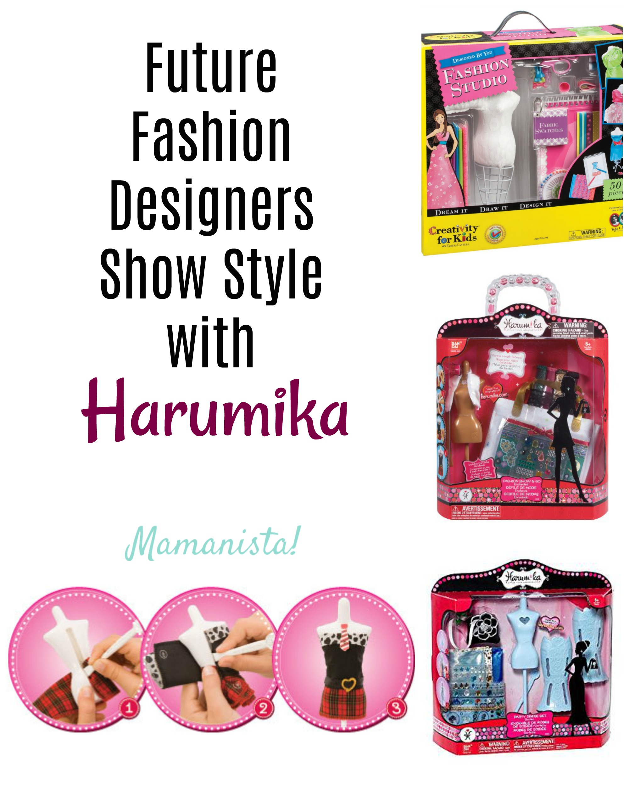 Future Fashion Designers Show Style with Harumika