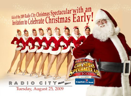 Radio City Christmas in August with Rockettes