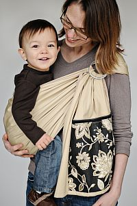 UpMama Ring Sling Pouch Hybrid Baby Carrier