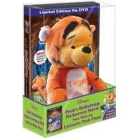Pooh in Tigger Costume Plush and Heffalump Halloween Special Edition