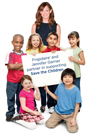 Frigidaire Jennifer Garner and Save the Children