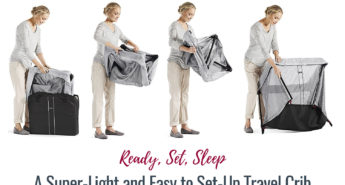 Ready, Set, Sleep - A Super-Light and Easy to Set-Up Travel Crib