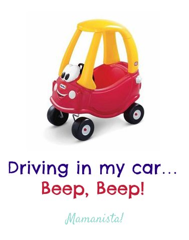 Driving in my car...Beep, Beep!