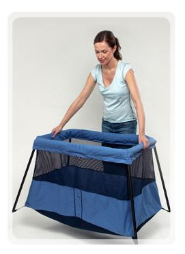 Ready, Set, Sleep – A Super-Light and Easy to Set-Up Travel Crib
