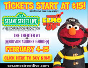 Win Tickets to Sesame Street Live at Madison Square Garden!