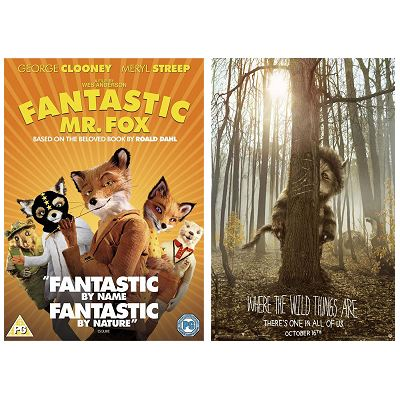 Fantastic Mr. Fox and Where the Wild Things Are