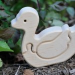wooden duck puzzle