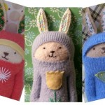 Wool Waldorf Bunny Dolls