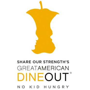 Share Our Strength's Great American Dine Out Logo
